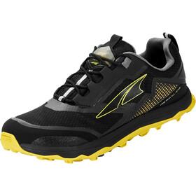 Altra Lone Peak All Weather Low Shoes Men, czarny/żółty